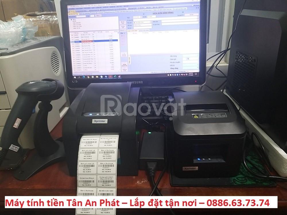 Máy tính tiền giá rẻ cho cửa hàng thời trang tại Kiên Giang  (ảnh 1)