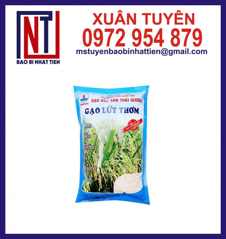 Bao bì gạo 5kg, sản xuất bao bì gạo (ảnh 1)
