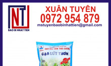 Bao bì gạo 5kg, sản xuất bao bì gạo
