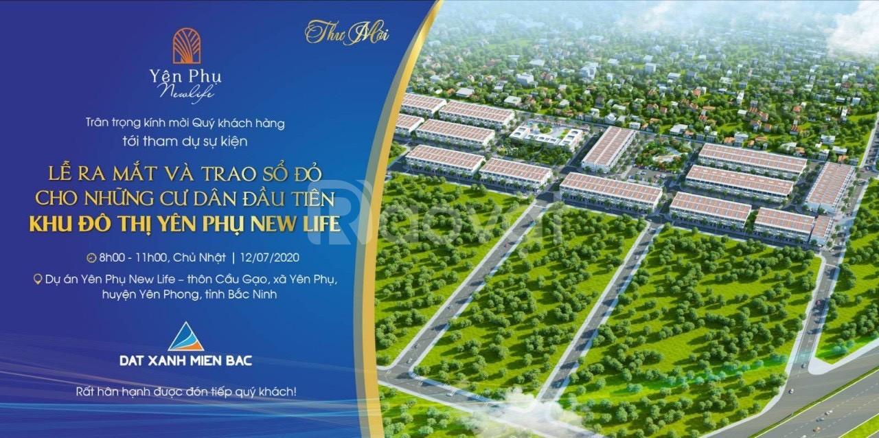 Bán đất nền dự án quận Yên Phong