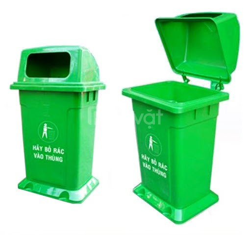 Nên mua thùng rác nhựa nắp hở hay nắp kín sẽ tốt hơn?