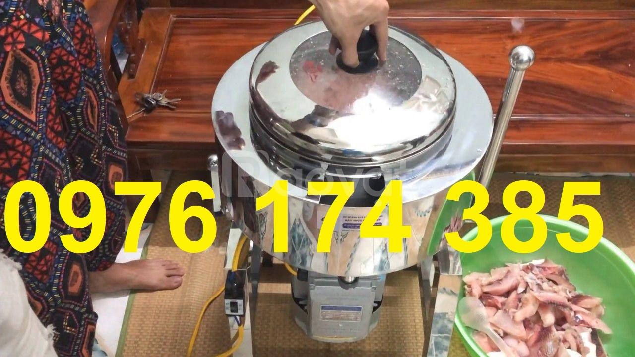 Máy xay giò chả xúc xích 3kg/mẻ có bao đá giá cực rẻ