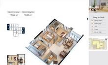 Căn hộ nội thất căn bản Goldmark City 3PN