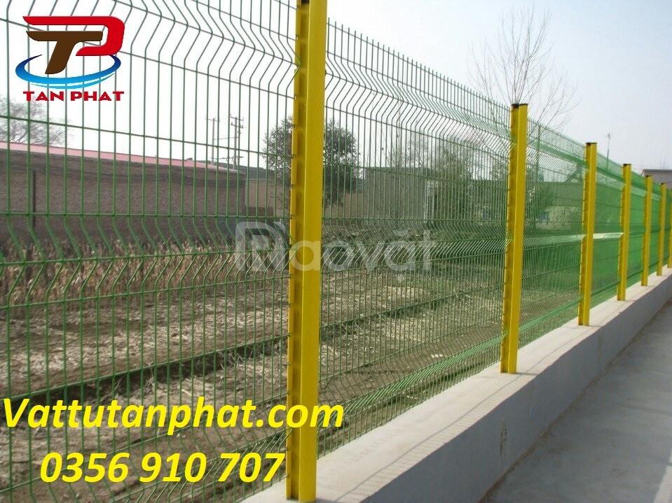 Hàng rào lưới thép, hàng rào kho, hàng rào lưới thẳng dây 4ly,6ly