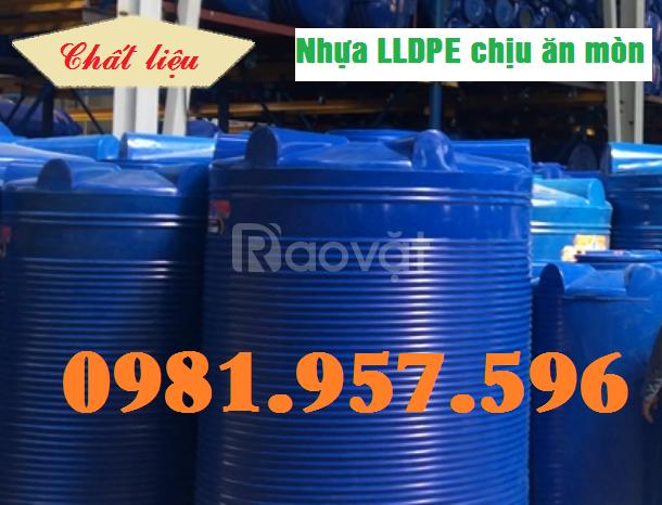 Thùng hóa chất 3000L, thùng hóa chất 2000L, thùng hóa chất 1000L