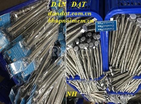 Dây dẫn nước nóng lạnh inox, dây cấp nước inox các loại, ống nước inox
