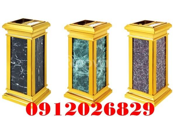 Cập nhật mẫu thùng rác inox đá hoa cương thương hiệu Paloca