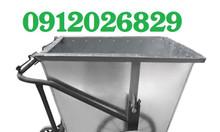 Hành Tinh Xanh chuyên cung cấp xe thu gom rác 400L 3 bánh chất lượng
