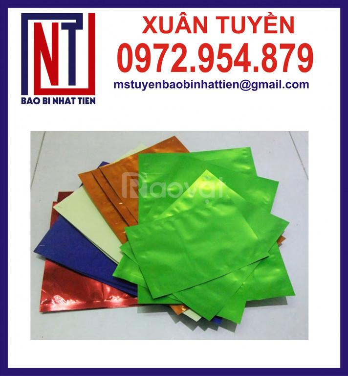Sản xuất túi nhôm đa dạng màu sắc kích thước