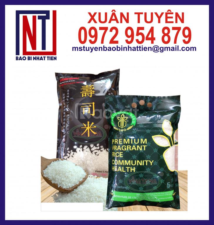 Túi đựng gạo 5kg cao cấp giá thành rẻ (ảnh 1)