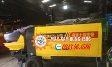 Máy bơm bê tông tĩnh mini 15m3/h nhập khẩu chính hãng