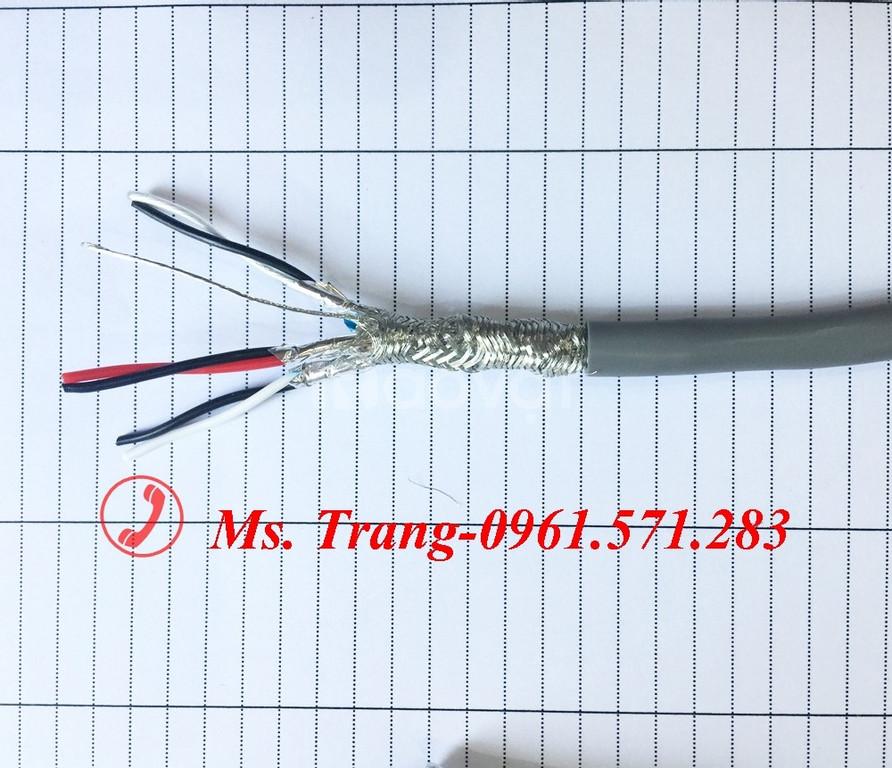 Dây cáp tín hiệu lõi vặn xoắn chống nhiễu 2 lớp Shield
