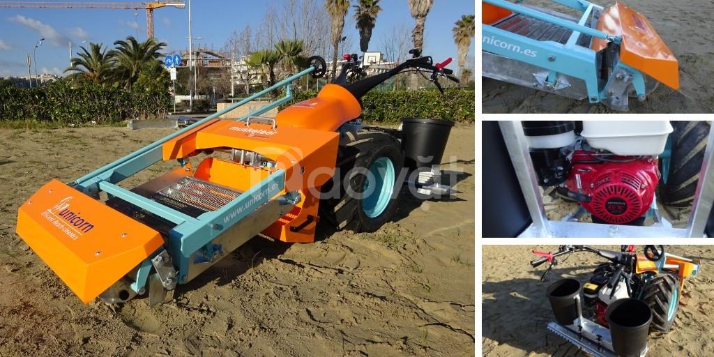 Máy sàng cát bãi biển (Loại tự hành) (ảnh 8)