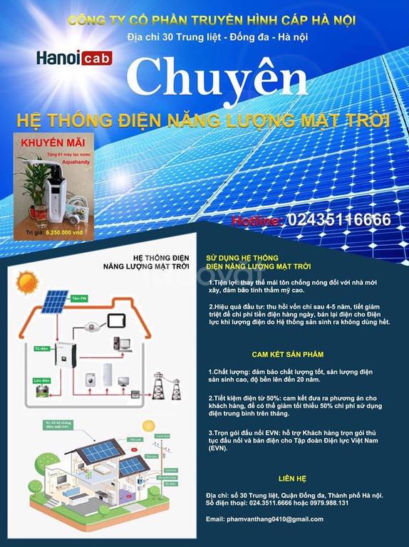 10 Ưu điểm nổi trội khi dùng Điện Mặt Trời (ảnh 1)