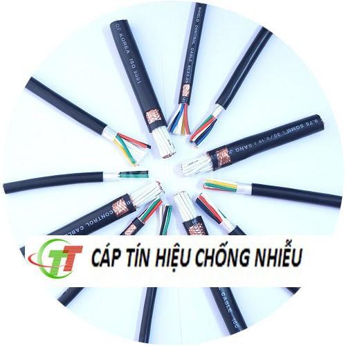 Cáp tín hiệu chống nhiễu Sangjin 3x0.75mm2