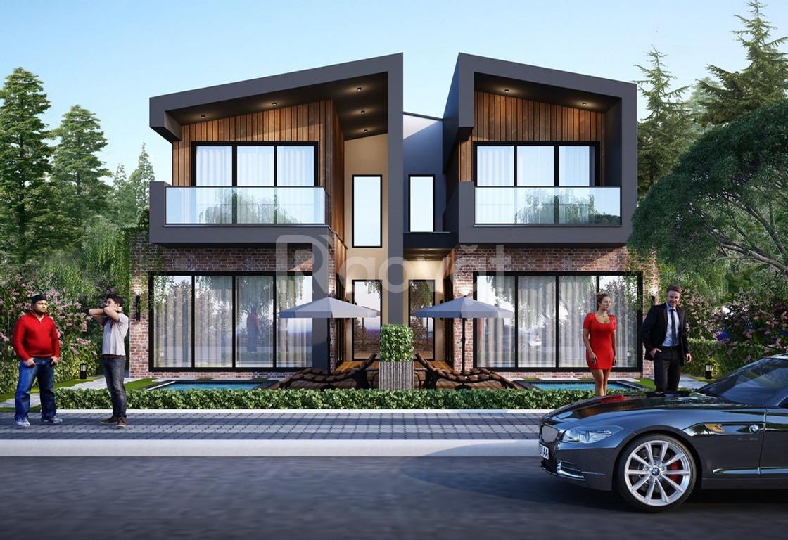 Biệt thự nghỉ dưỡng ven đô - Panorama Hill Hòa Bình - 2.7 tỷ
