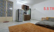 Cho thuê phòng đường Hồ Văn Huê, full nội thất, phí DV rẻ, giá tốt