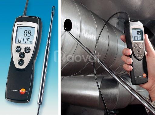 Máy đo tốc độ và lưu lượng gió Testo 425