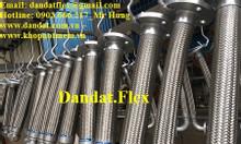 Khớp nối mềm chống rung có sẵn, ống nối mềm inox, ống mềm inox 304