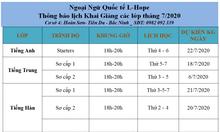 Nâng cao tri thức tại ngoại ngữ L-HOPE