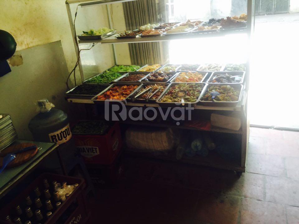 Sang nhượng quán cơm 116 Bà Triệu, gần chợ Hà Đông, full đồ, giá rẻ