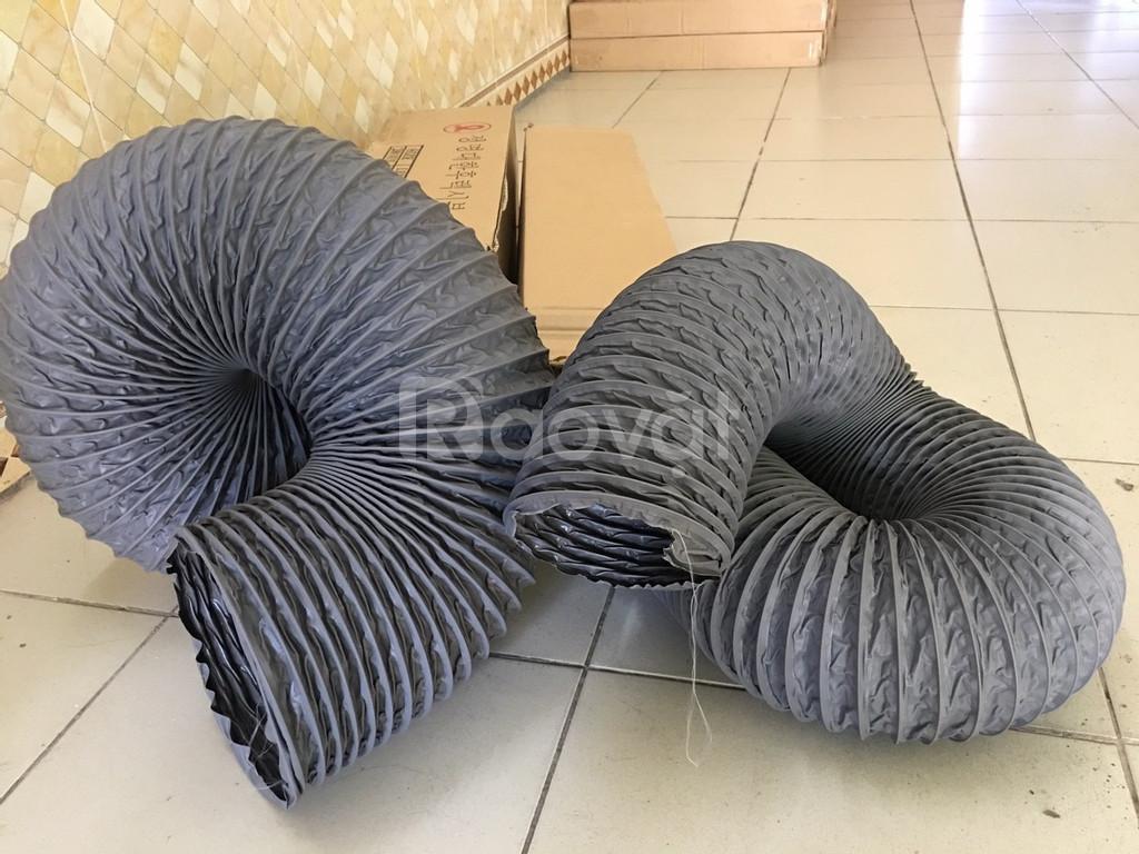 Ống gió mềm vải, ống gió vải, ống vải Tarpaulin D100 thông gió, khí. (ảnh 6)