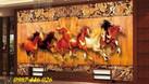 Tranh phong thủy, tranh ngựa, gạch ốp tường (ảnh 1)