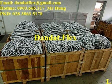 Báo giá ống thép mềm luồn dây điện bọc nhựa pvc, ống ruột gà lõi thép