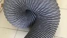 Ống gió mềm vải, ống gió vải, ống vải Tarpaulin D100 thông gió, khí. (ảnh 7)