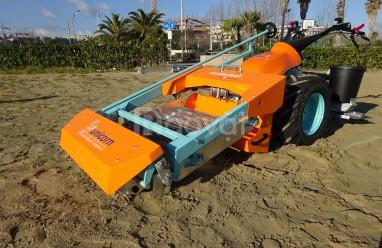 Máy sàng cát bãi biển (Loại tự hành) (ảnh 1)