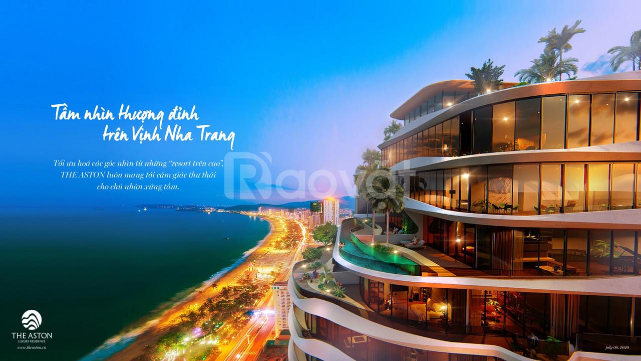 Sở hữu căn hộ The Aston view biển Trần Phú