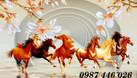 Tranh phong thủy, tranh ngựa, gạch ốp tường (ảnh 5)