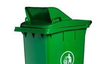 Thùng rác nhựa nắp hở 120L tiện dụng - giá rẻ