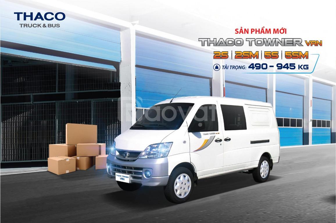 Thaco Towner Van 5S - Xe tải van 5 chỗ