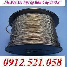 Lót cáp inox D2-3-4..,cốt nhôm 2 ly,mã ní xoay inox 1 và 2 đầu chốt