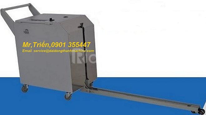 Máy đai niềng thùng tự động DBA-200 thích hợp dây chuyền sx tự động
