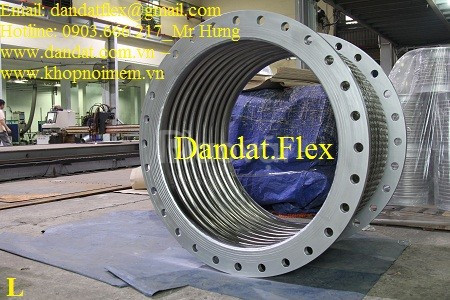 Khớp nối mềm chống rung cho hệ thống cấp thoát nước, ống nối mềm inox