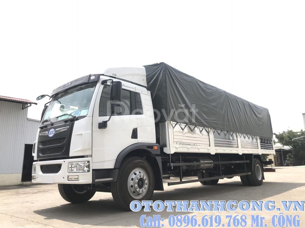 Xe tải Faw 8 tấn 2 thùng dài 8m2 đời 2020 giao ngay