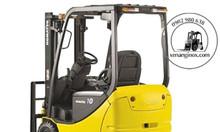 Xe nâng điện ngồi lái Komatsu 1 tấn chuyên dụng TPHCM