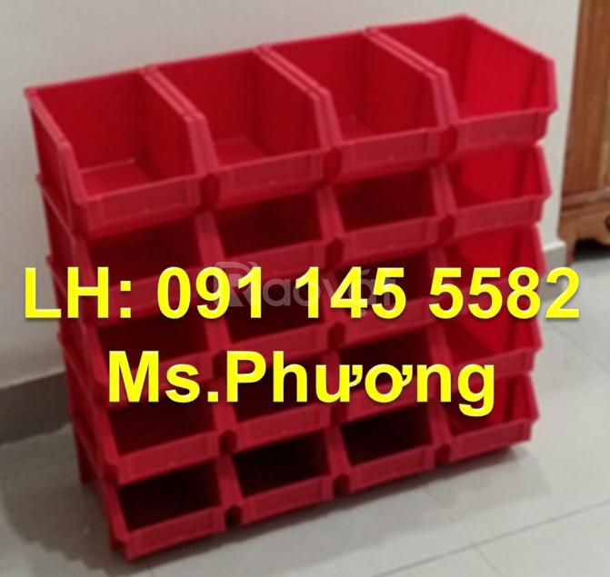 Khay nhựa A8 đựng dụng cụ cơ khí, hộp nhựa A6 đựng linh kiện, hộp đựng