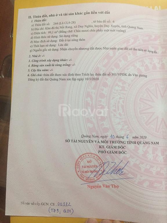 Biệt thự 3 tầng ven sông Thu Bồn Nam Hội An City, SĐCC, giá 3.8 tỷ