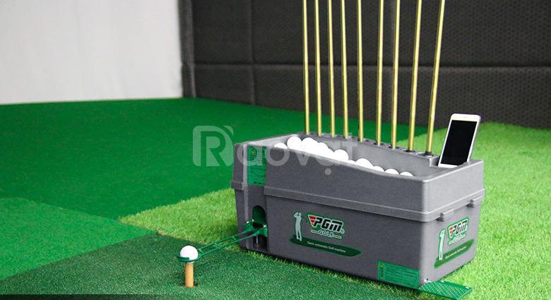 Máy phát bóng golf lên tee nhập khẩu (ảnh 7)