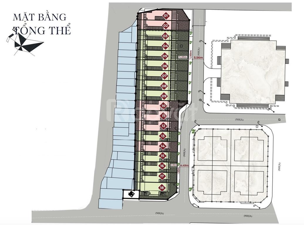 Dự án chỉ 18 lô liền kề trung tâm quận Thanh Xuân, giá đầu tư
