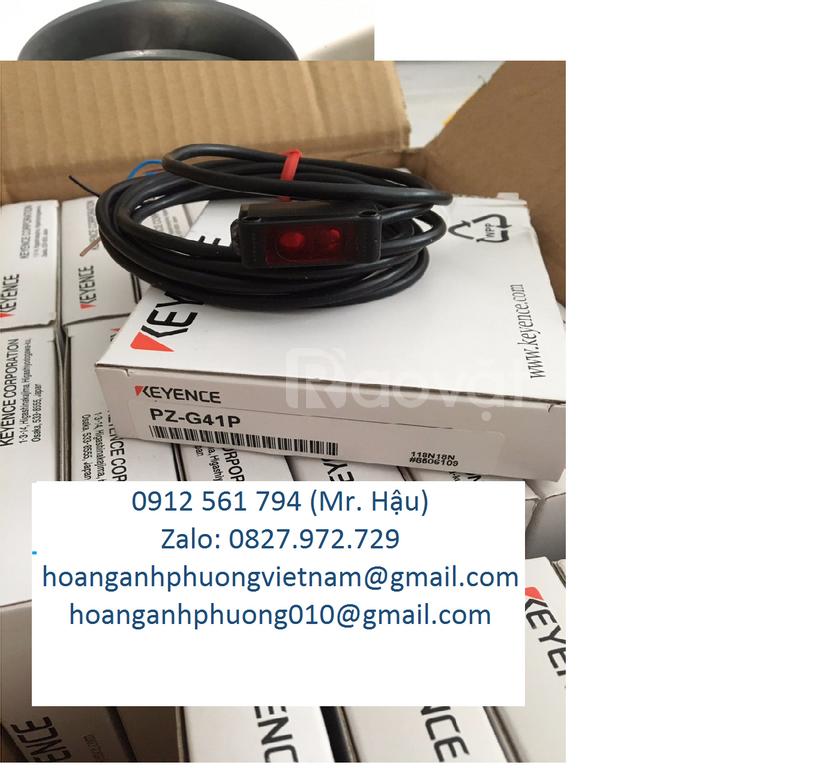Cung cấp cảm biến quang Keyence Pz-G41P - Cty Tnhh Hoàng Anh Phuơng