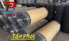 Lưới thép hàn, lưới hàn cuộn, lưới mạ kẽm làm hàng rào phi 5,phi 4