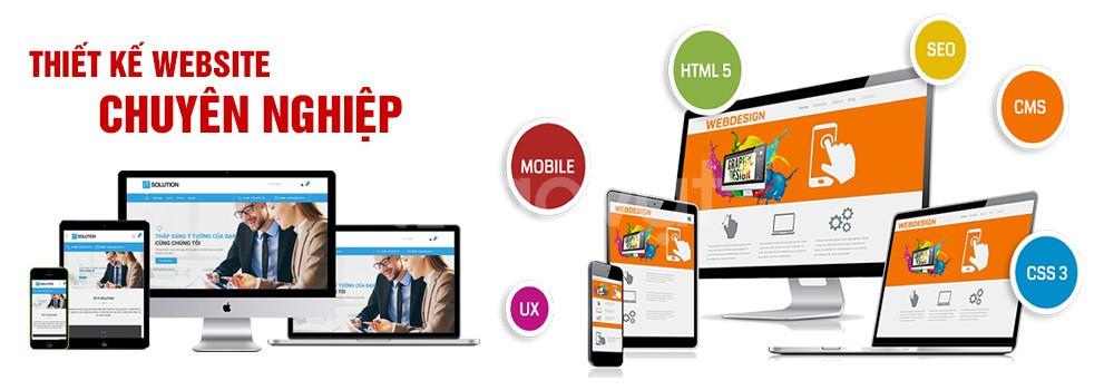 Thiết kế website chuyên nghiệp, uy tín, giá rẻ