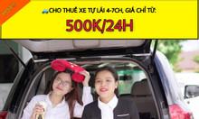 Cho thuê xe tự lái, chỉ từ 500.000 đồng/24h