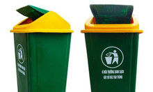 #3 loại thùng rác nhựa công cộng được sử dụng nhiều hiện nay