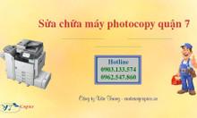 Địa điểm sửa chữa máy photocopy quận 7 giá rẻ