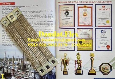 Nhà sản xuất thiết bị điện công nghiệp: Dây đồng bện, thanh nối mềm